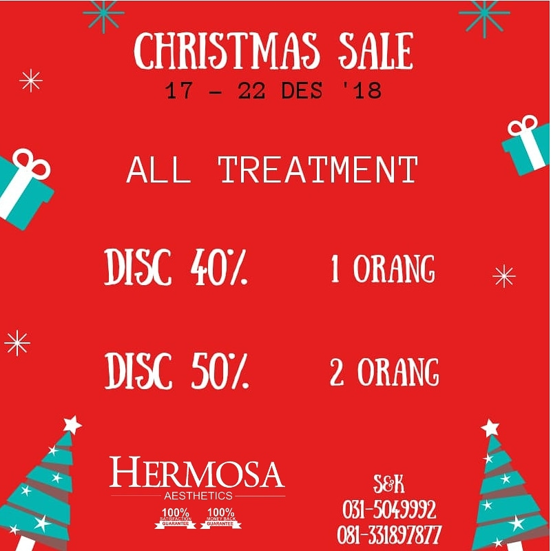 TREATMENT MURAH POTONGAN 50% ALL TREATMENT